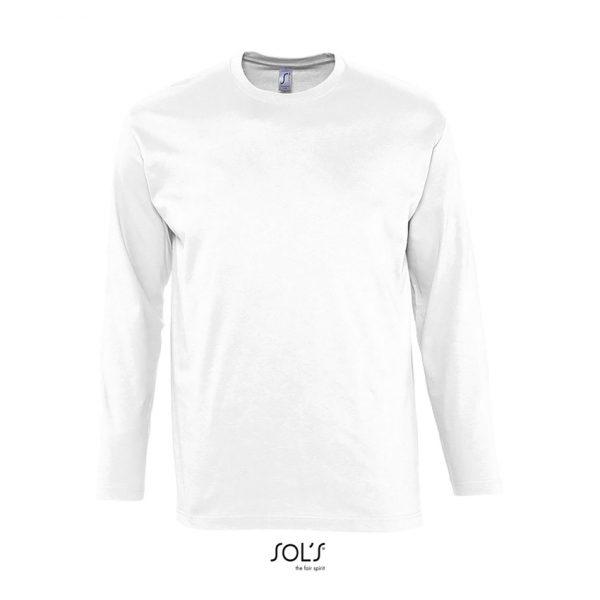 Camiseta Monarch Hombre Sols - Blanco