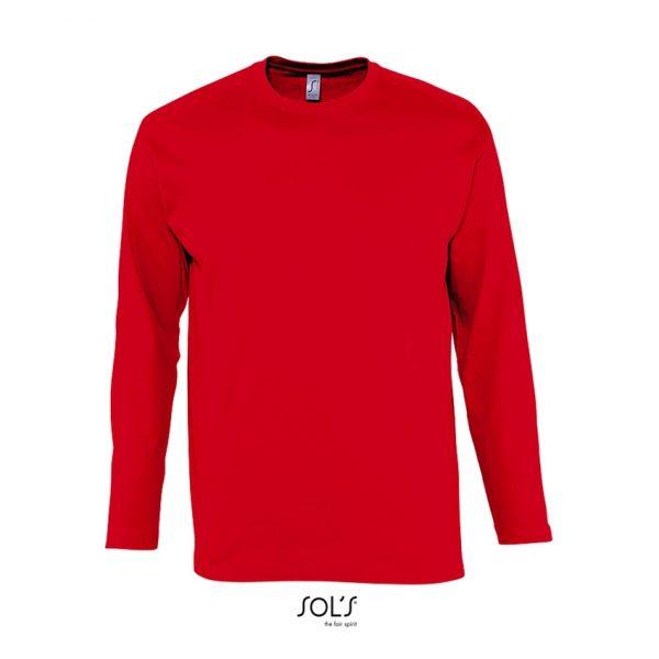 Camiseta Monarch Hombre Sols - Rojo