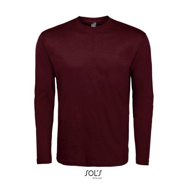 Camiseta Monarch Hombre Sols - Borgoña