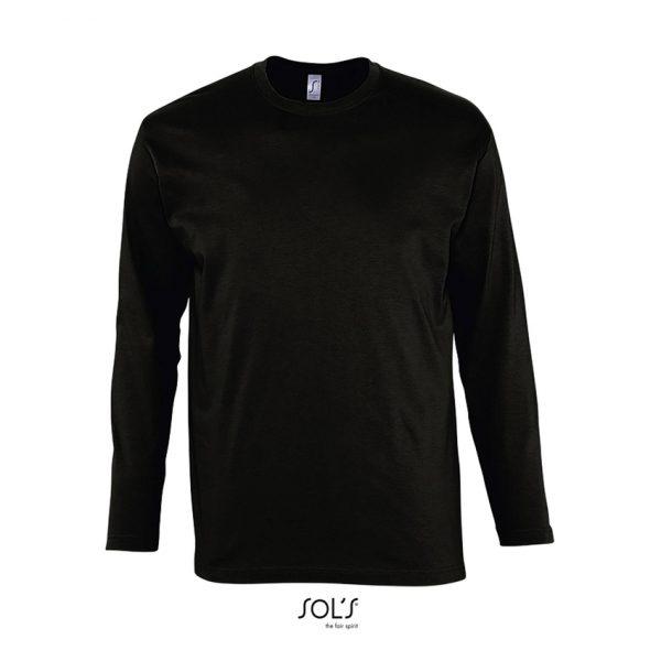 Camiseta Monarch Hombre Sols - Negro Profundo