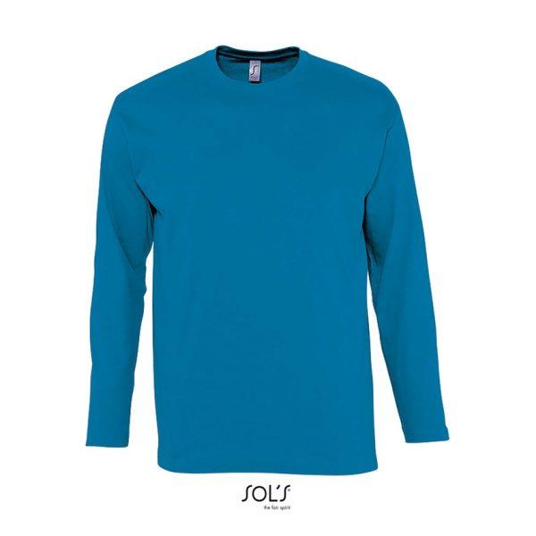 Camiseta Monarch Hombre Sols - Aqua