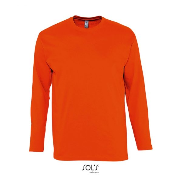 Camiseta Monarch Hombre Sols - Naranja