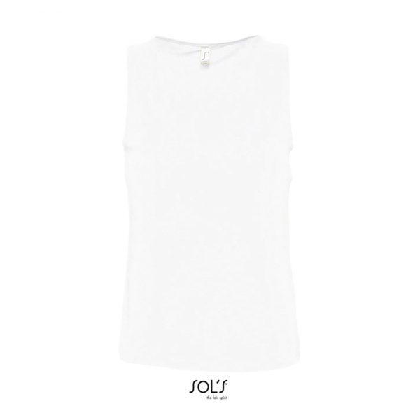 Camiseta Justin Mujer Sols - Blanco