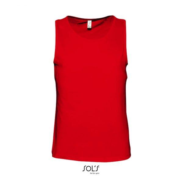 Camiseta Justin Mujer Sols - Rojo