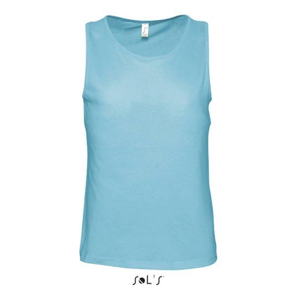 Camiseta Justin Mujer Sols - Azul Atolón