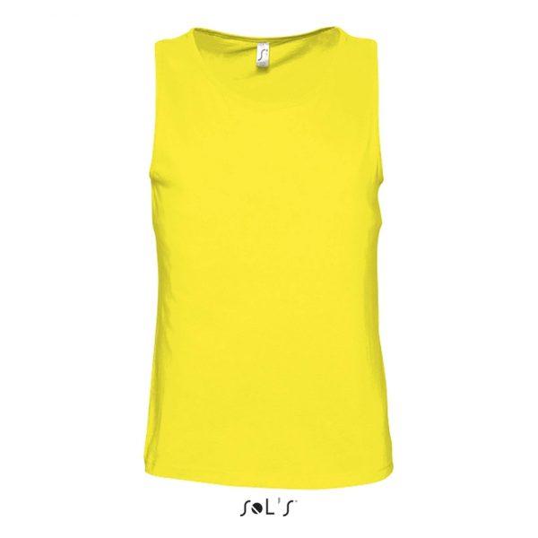 Camiseta Justin Mujer Sols - Limón