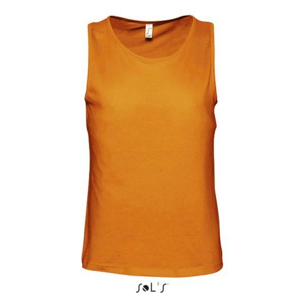 Camiseta Justin Mujer Sols - Naranja