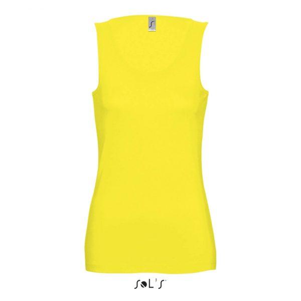 Camiseta Jane Mujer Sols - Limón