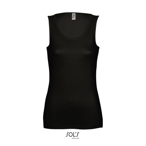 Camiseta Jane Mujer Sols - Negro Profundo