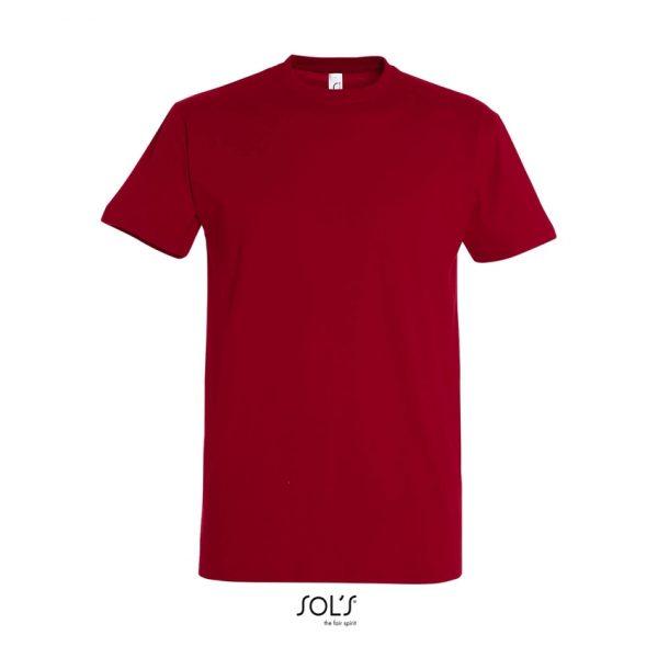 Camiseta Imperial Hombre Sols - Rojo Tango