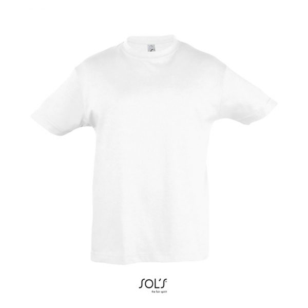 Camiseta Regent Kids Niño Sols - Blanco