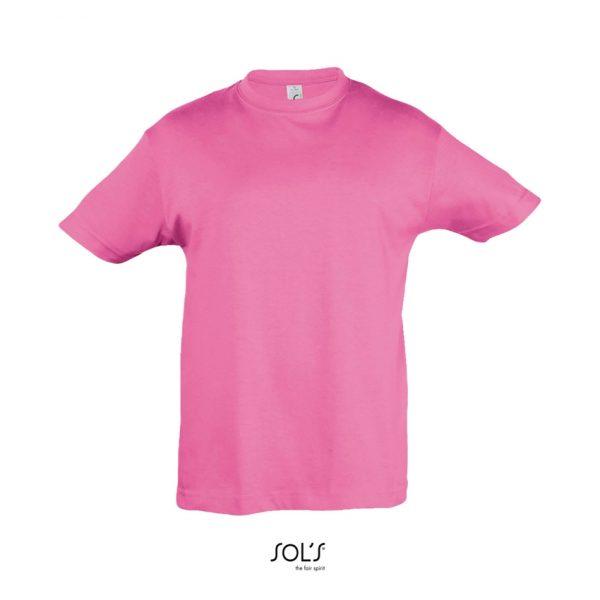 Camiseta Regent Kids Niño Sols - Rosa Orquídea
