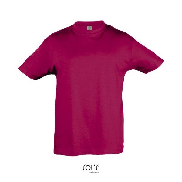 Camiseta Regent Kids Niño Sols - Fucsia