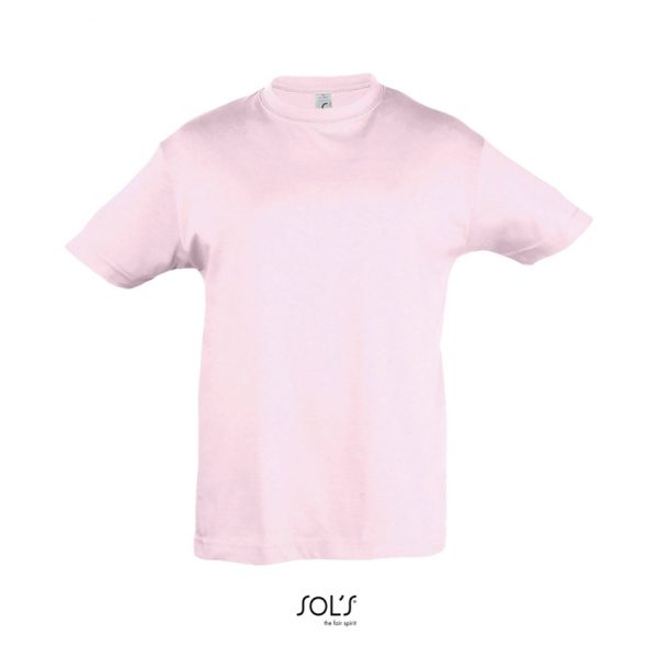 Camiseta Regent Kids Niño Sols - Rosa Pálido