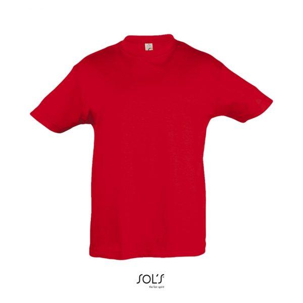 Camiseta Regent Kids Niño Sols - Rojo