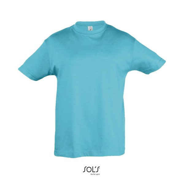 Camiseta Regent Kids Niño Sols - Azul Atolón