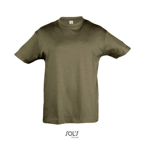 Camiseta Regent Kids Niño Sols - Army