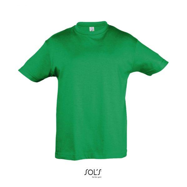Camiseta Regent Kids Niño Sols - Verde Pradera