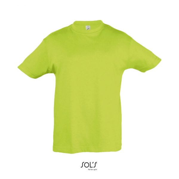 Camiseta Regent Kids Niño Sols - Verde Manzana