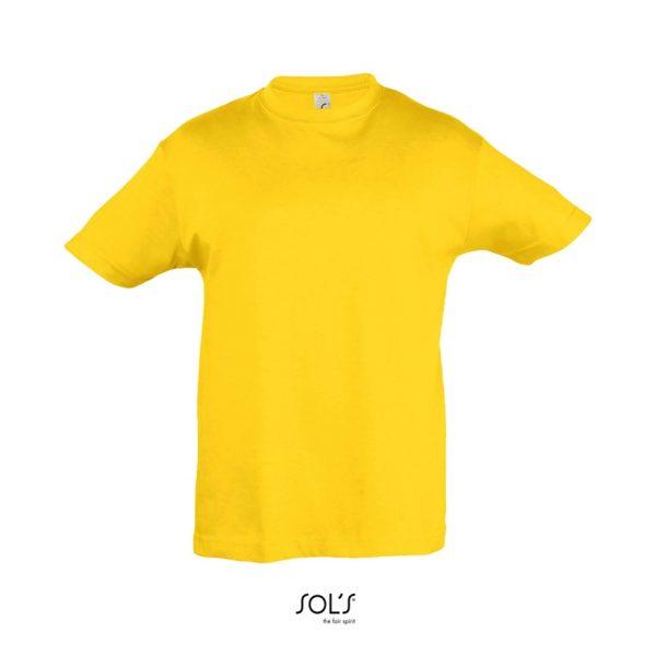 Camiseta Regent Kids Niño Sols - Amarillo