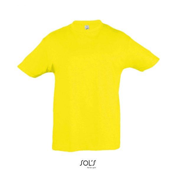 Camiseta Regent Kids Niño Sols - Limón