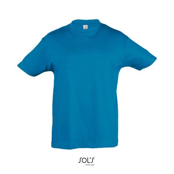 Camiseta Regent Kids Niño Sols - Aqua