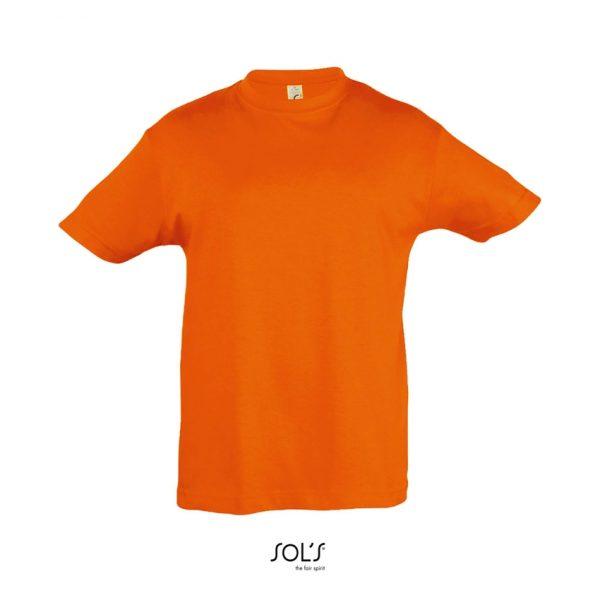 Camiseta Regent Kids Niño Sols - Naranja