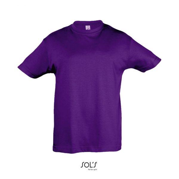 Camiseta Regent Kids Niño Sols - Morado Oscuro
