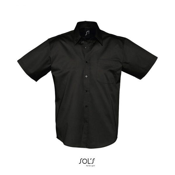Camisa Brooklyn Hombre Sols - Negro