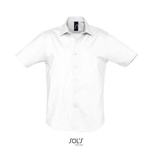 Camisa Broadway Hombre Sols - Blanco