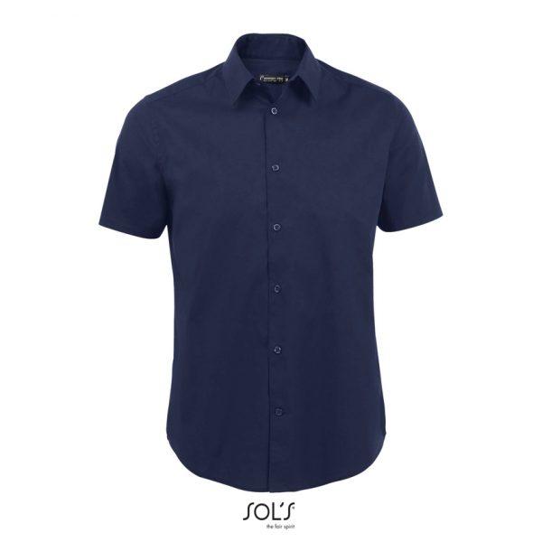 Camisa Broadway Hombre Sols - Azul Oscuro