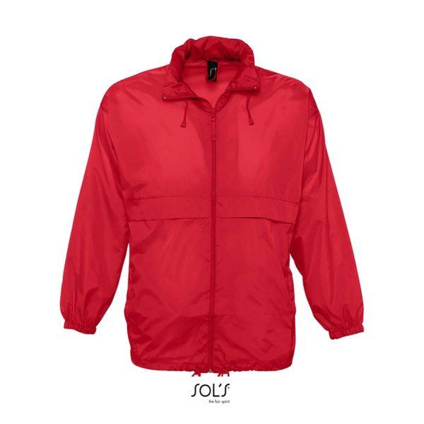 Cortaviento Surf Unisex Sols - Rojo
