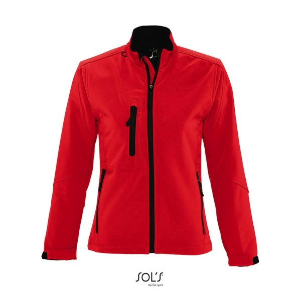 Chaqueta Roxy Mujer Sols - Rojo Chili