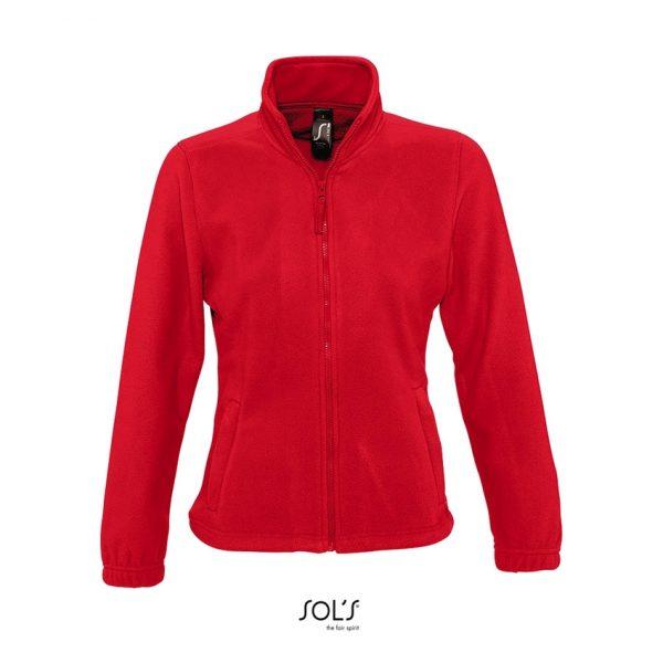 Chaqueta North Women Mujer Sols - Rojo