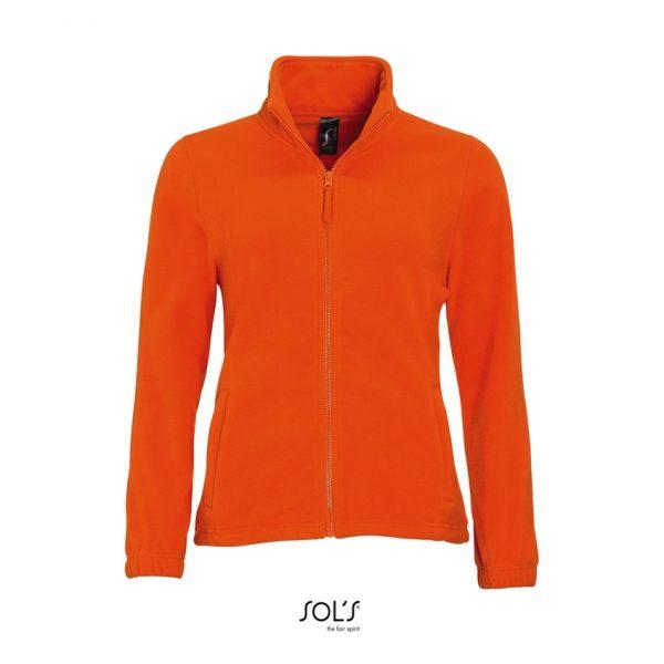 Chaqueta North Women Mujer Sols - Naranja