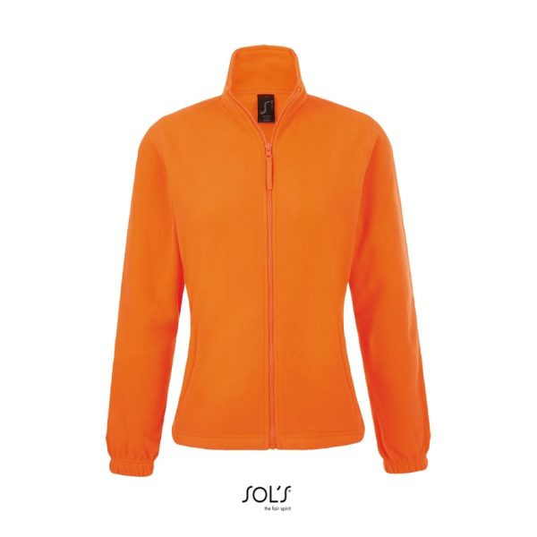 Chaqueta North Women Mujer Sols - Naranja Fluor
