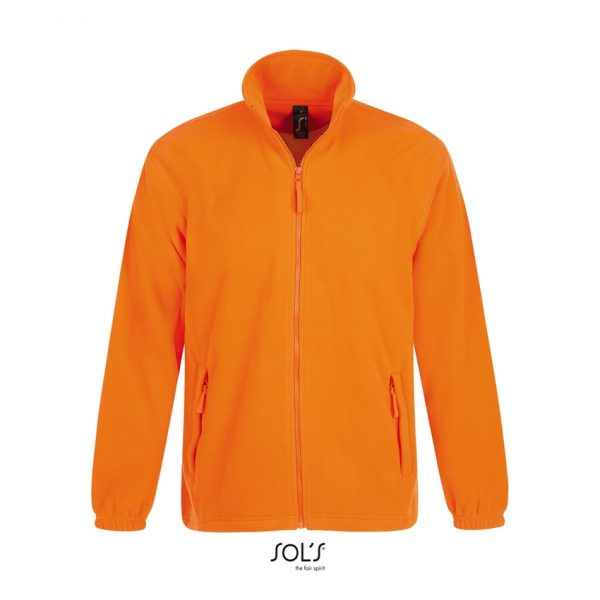 Chaqueta North Hombre Sols - Naranja Fluor