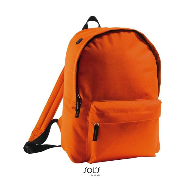 Mochila Rider Unisex Sols - Naranja