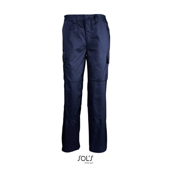 Pantalón De Trabajo Active Pro Hombre Sols - Pro Azul Marino