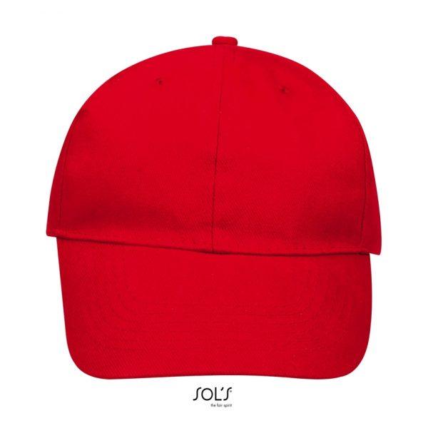 Gorra Buffalo Unisex Sols - Rojo