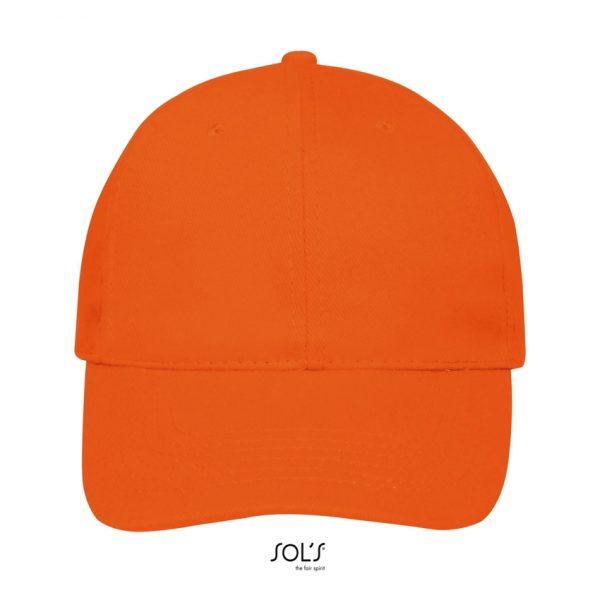 Gorra Buffalo Unisex Sols - Naranja
