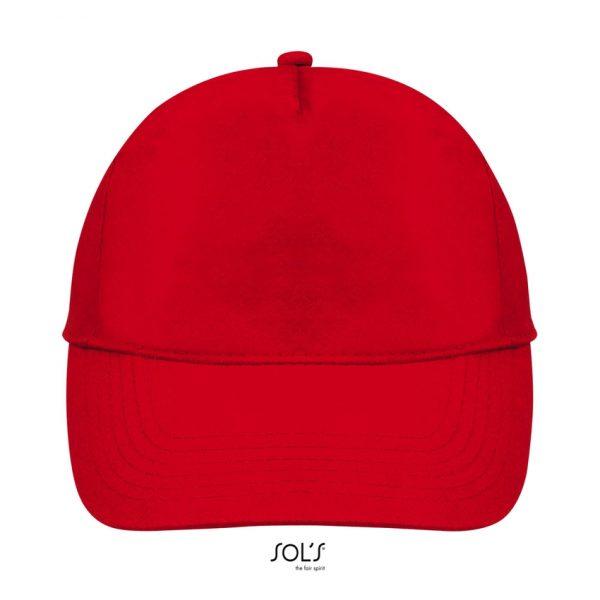 Gorra Buzz Unisex Sols - Rojo