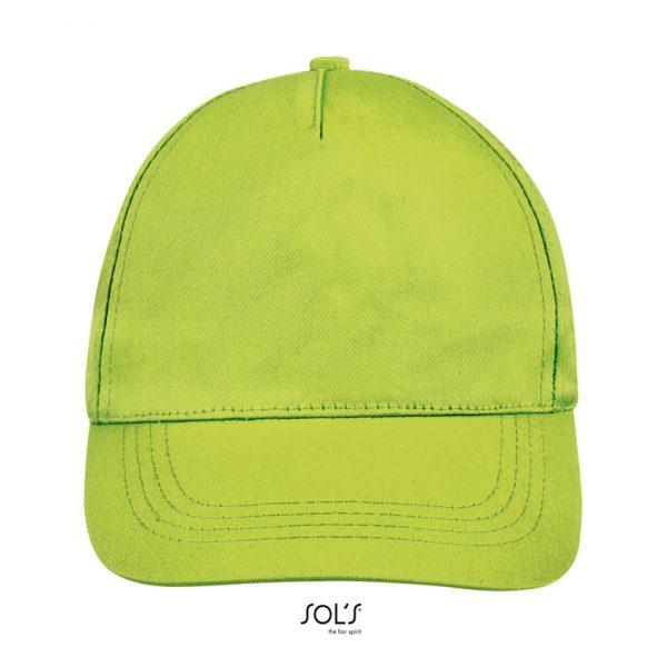 Gorra Buzz Unisex Sols - Verde Manzana