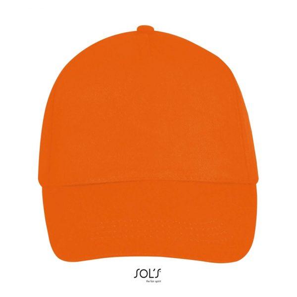 Gorra Buzz Unisex Sols - Naranja