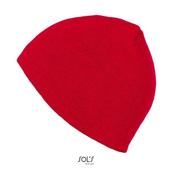 Gorro Bronx Unisex Sols - Rojo