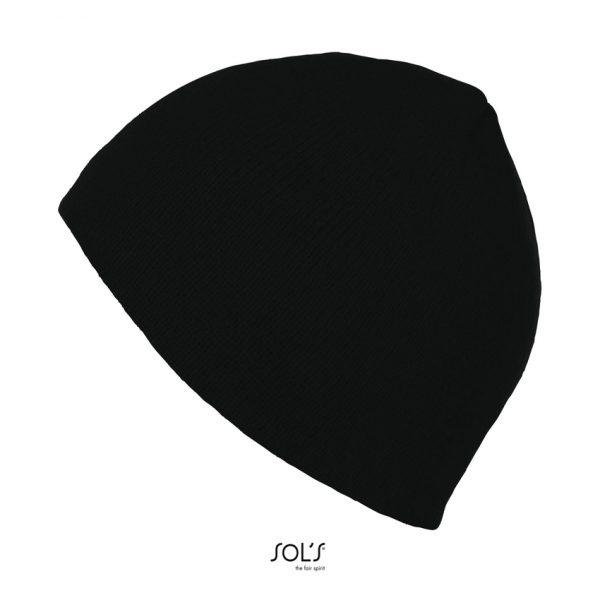 Gorro Bronx Unisex Sols - Negro