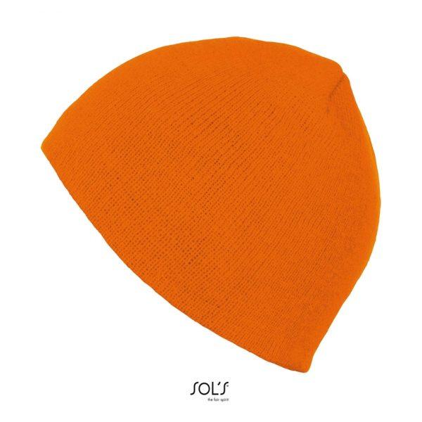 Gorro Bronx Unisex Sols - Naranja