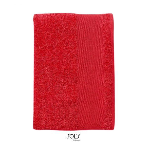 Toalla Island 50 Unisex Sols - Rojo