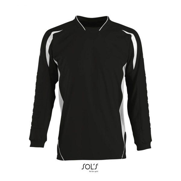 Camiseta Azteca Kids Niño Sols - Negro / Blanco