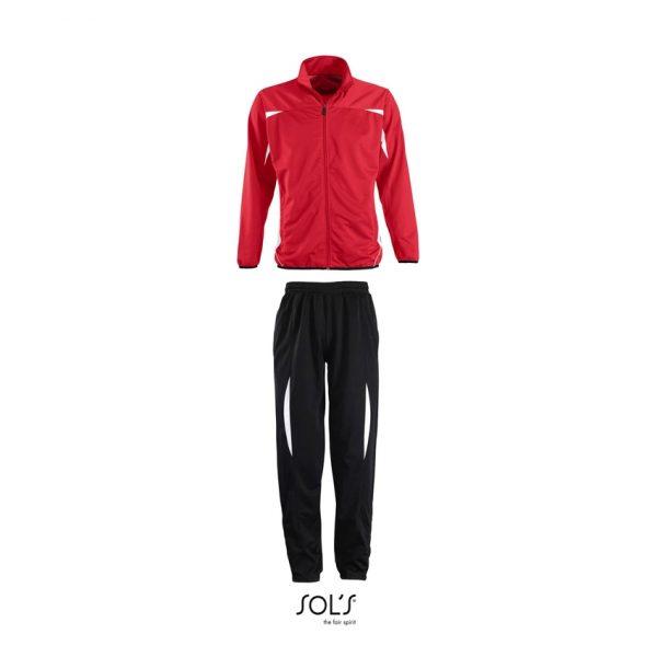 Chandal Camp Nou Hombre Sols - Rojo-Blanco / Nego